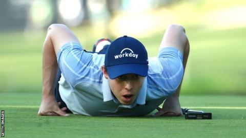 Italian Open: Matthew Fitzpatrick one ahead as Shane Lowry misses cut