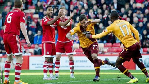 Scott McDonald came off the bench to level for Motherwell
