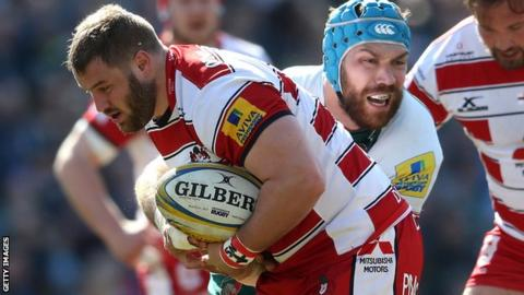 Former Ulster prop Paddy McAllister is now part of the Gloucester senior squad
