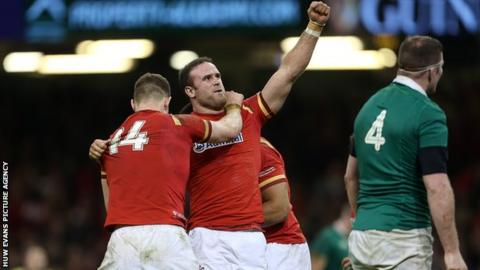 Aaron Shingler hails 'massive performance' as Wales beat Scotland in Six Nations