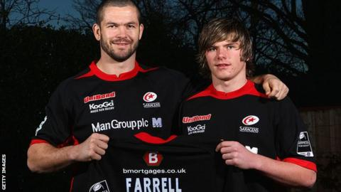 Andy and Owen Farrell