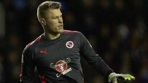 Anssi Jaakkola in action for Reading