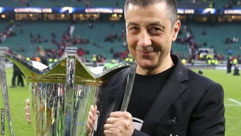 Toulon owner Mourad Boudjellal