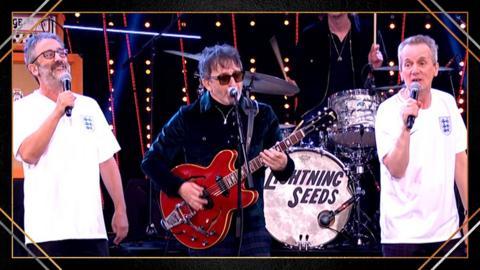 The Lightning Seeds, David Baddiel and Frank Skinner