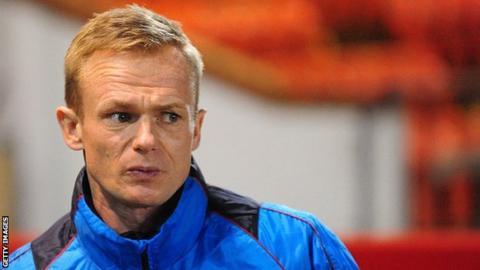 Wrexham manager Dean Keates