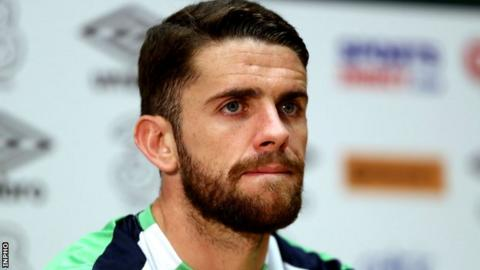 Robbie Brady made a £13 million move from Norwich to Burnley in January