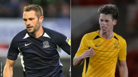 John White has made 12 Southend United appearances this term while Harry Phillips has turned out twice for the Shrimpers