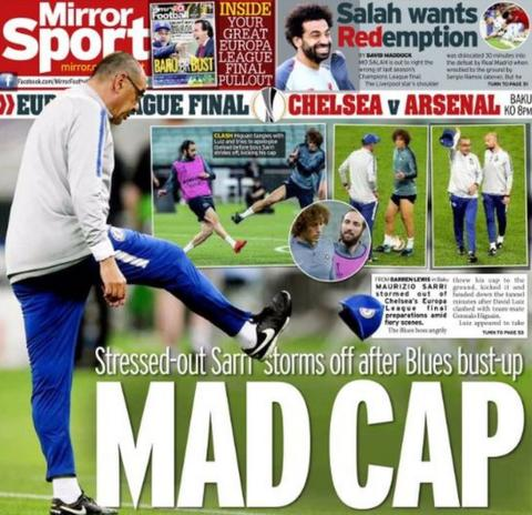 Mirror back page: Mad cap