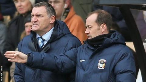 Jamie Clapham and Tony Mowbray