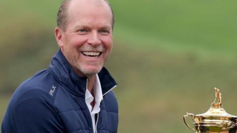 US Ryder Cup captain Steve Stricker