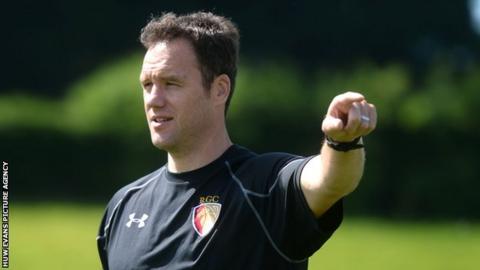 New RGC 1404 head coach Mark Jones