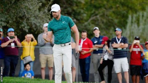 Tway wins first US PGA Tour title in playoff as Snedeker fades