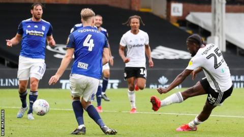 Josh Onomah scores Fulham's winner