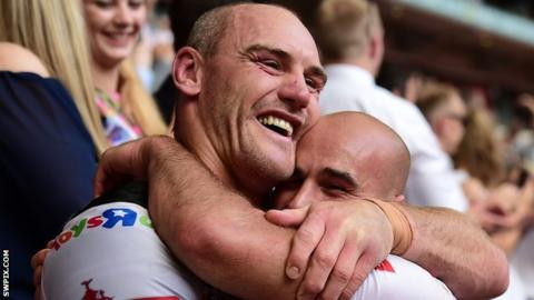 Gareth Ellis and Danny Houghton