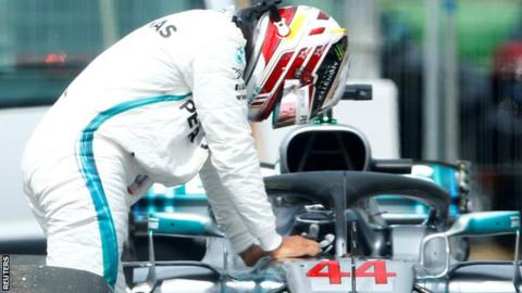 German GP Qualifying: Sebastian Vettel as Lewis Hamilton suffers qualifying disaster