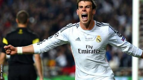 champions league gareth bale excited by 2017 cardiff final bbc sport