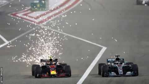 Lewis Hamilton questions Max Verstappen's maturity