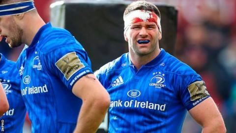 Fergus McFadden was cited for striking an opponent with his head