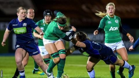 Ireland Complete Preparations For Scotland Clash Later