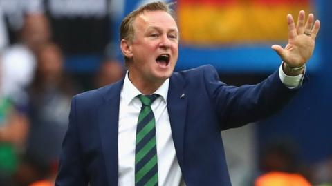 Michael O'Neill's eight-year Northern Ireland tenure including guiding his country to Euro 2016