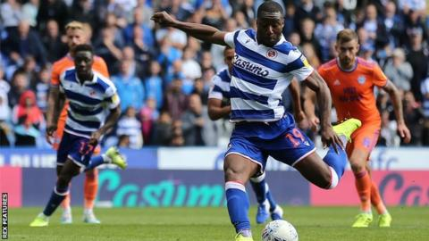 Reading striker Yakou Meite