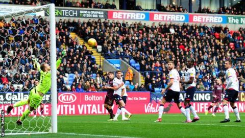 Barrie McKay gives Swansea City the lead with with an impressive long-range effort