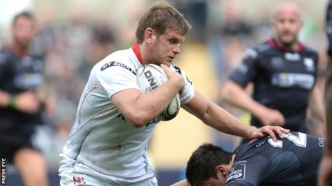 Chris Henry could feature in the Pro12 encounter with Zebre