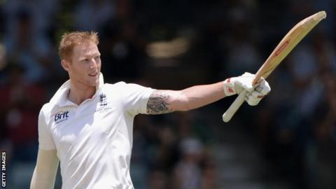 Ben Stokes playing for England in Australia in 2013