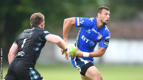Zane Kirchner appeared for the Dragons in a pre-season friendly against Glasgow.