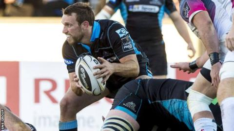 Glasgow scrum-half Mike Blair