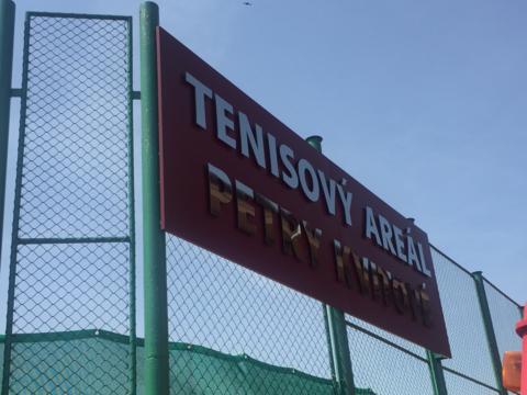 Petra Kvitova tennis club in Fulnek