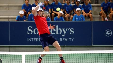 Murray continues singles return with second win