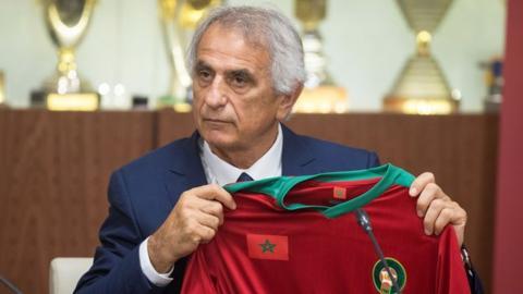 New Morocco coach Vahid Halilhodzic