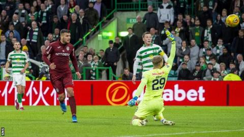 George Tucudean's stoppage-time goal ensured Celtic lost on the night