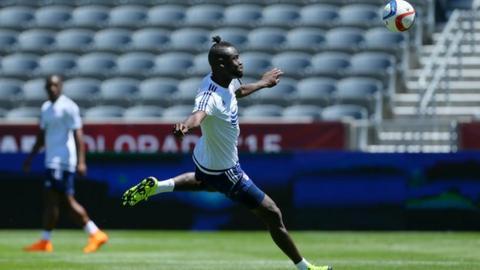 Sierra Leone striker Kei Kamara