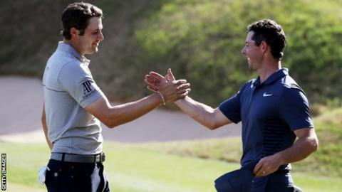Rory McIlroy falls to Peter Uihlein in match play