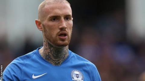 Marcus Maddison playing for Peterborough