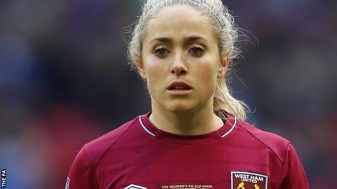 Brianna Visalli: Birmingham City Women sign West Ham midfielder