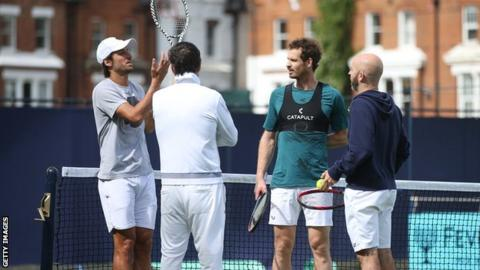 Andy Murray & Feliciano Lopez to face Queen's doubles top seeds