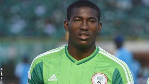 Nigeria youth international Taiwo Awoniyi
