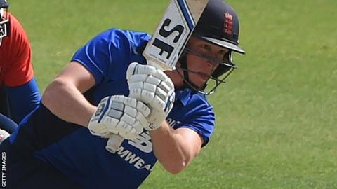 Hampshire batsman Tom Alsop