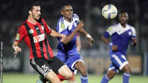 Al Hilal against USM Alger