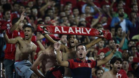Fans of Egyptian club Al Ahly