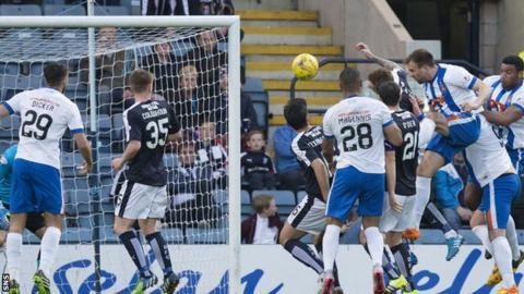 Conrad Balatoni equalised for Kilmarnock