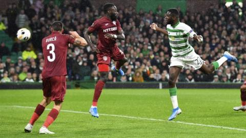 Odsonne Edouard scored his ninth goal of the season with a header in the 20th minute.