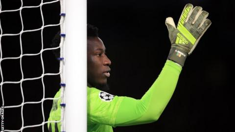 Ajax and Cameroon keeper Andre Onana