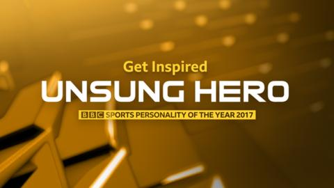 BBC Get Inspired Unsung Hero award