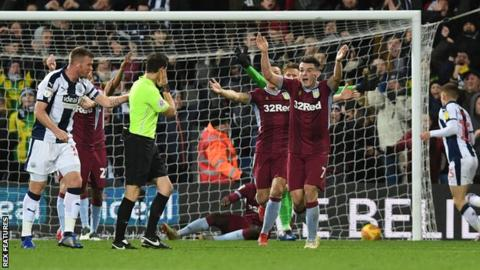 Aston Villa players