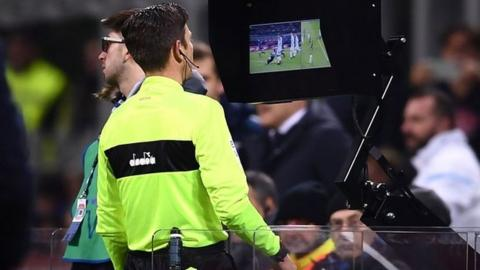 VAR referees are already used in Italy