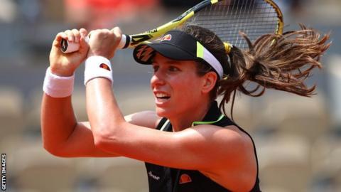 French Open: Johanna Konta's semi-final moved to Friday